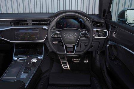Audi S7 2019 RHD dashboard