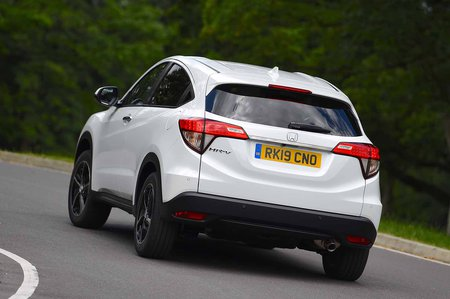 Honda HR-V 2019 rear tracking shot