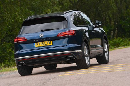 Volkswagen Touareg 2019 RHD rear cornering shot