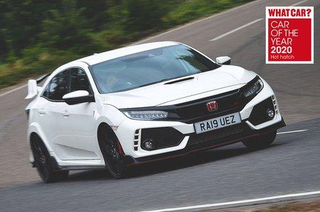 Civic Type-R 2020 awards pic