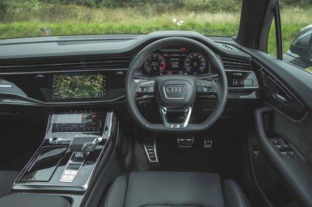 Audi SQ7 2019 RHD dashboard