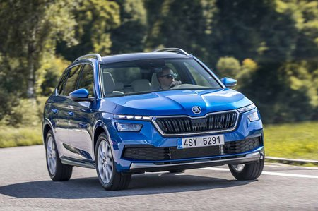 Skoda Kamiq Launch 2019 LHD front tracking