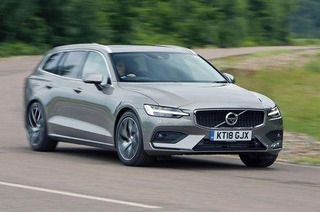 Volvo V60 2018 RHD Front Cornering
