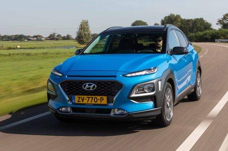 Hyundai Kona 2019 LHD front tracking