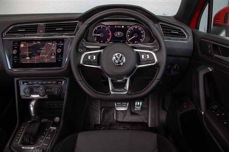 Volkswagen Tiguan Allspace 2019 RHD dashboard