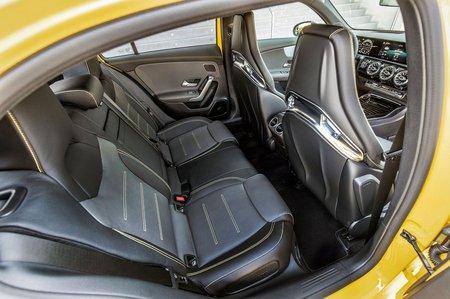 Mercedes-AMG A45 2019 LHD rear seats