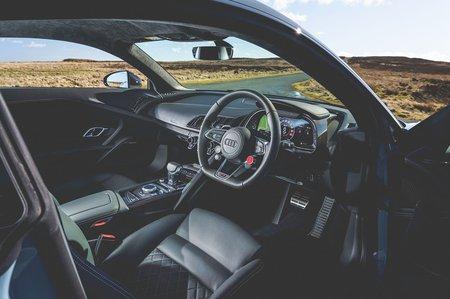 Audi R8 2019 RHD right door open