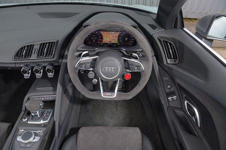 Audi R8 Spyder 2019 RHD dashboard