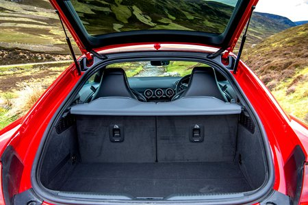 Audi TT RS 2019 boot open