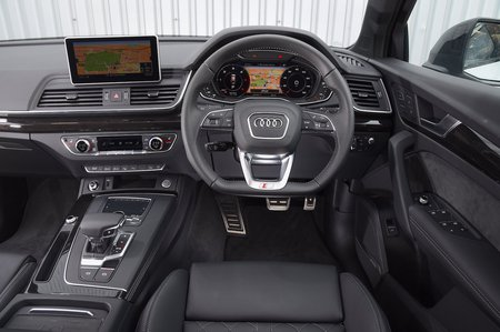 Audi Q5 2019 RHD dashboard shot