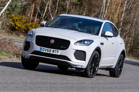 Jaguar E-Pace 2019 front right cornering