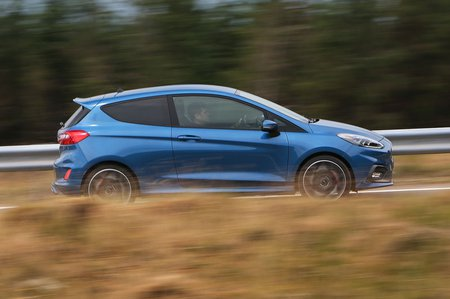 2019 Ford Fiesta ST driving