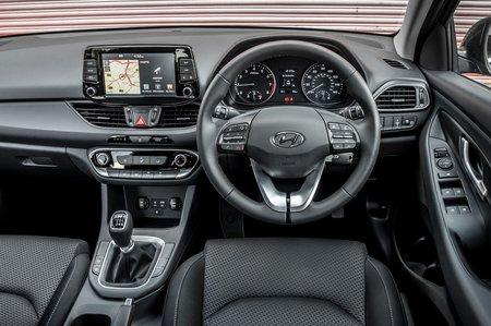 Hyundai i30 2019 RHD dashboard