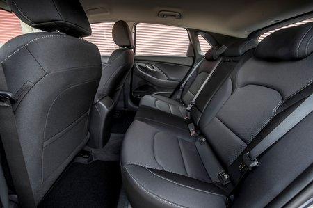 Hyundai i30 2019 RHD rear seats