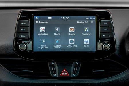Hyundai i30 2019 RHD infotainment
