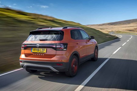 Volkswagen T-Cross 2019 rear right tracking shot