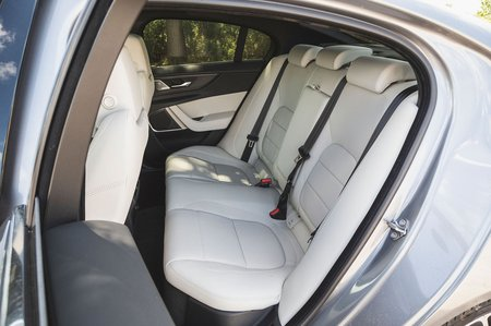 Jaguar XE 2019 RHD rear seats