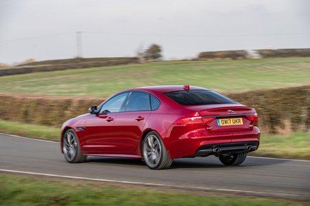 Jaguar XF 2017 rear cornering shot