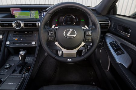 Lexus RC 2019 RHD dashboard