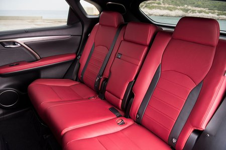 Lexus RX 2019 rear seats