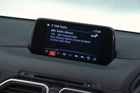 Mazda CX-5 2019 RHD infotainment