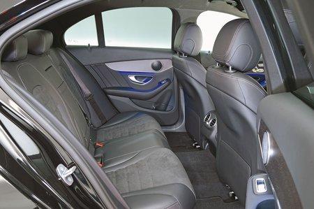 Mercedes C Class 2019 rear seats