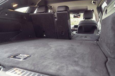 Mercedes EQC 2019 RHD boot open