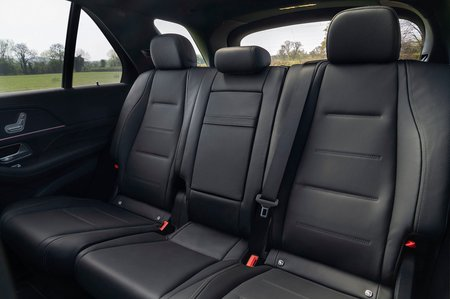Mercedes GLE 2019 RHD rear seats