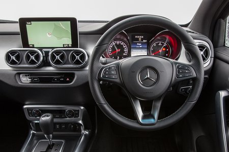Mercedes-Benz X-Class 2019 RHD dashboard