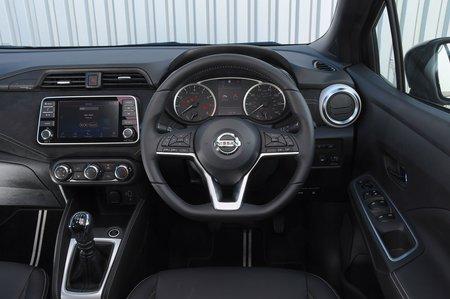 Nissan Micra 2019 RHD dashboard