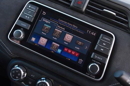 Nissan Micra RHD infotainment
