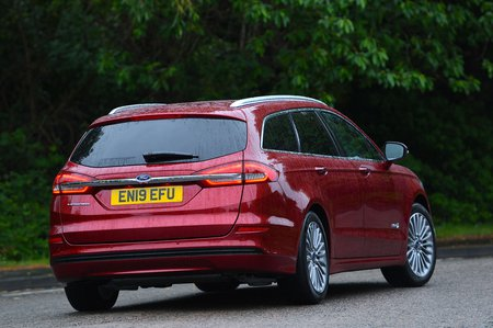 Ford Mondeo Estate 2019 RHD rear cornering shot