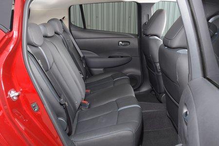 Nissan Leaf 2019 rear seats