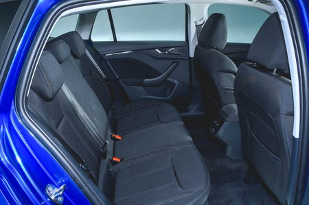 Skoda Scala 2019 RHD rear seats