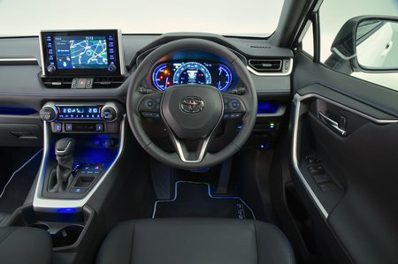 Toyota RAV4 2019 RHD dashboard