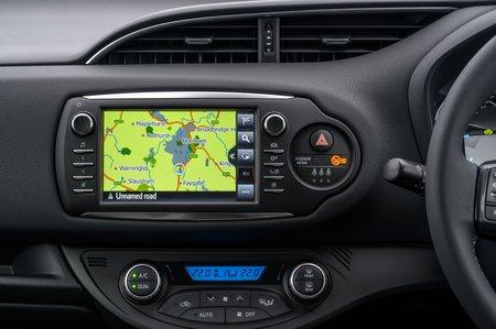Toyota Yaris 2018 RHD infotainment