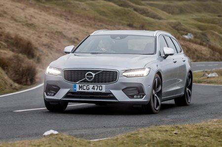 Volvo V90 2018 front cornering