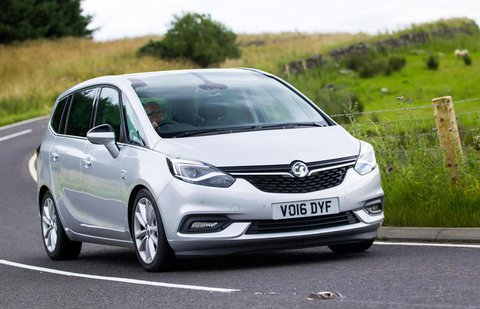 Used Vauxhall Zafira Tourer 13-present