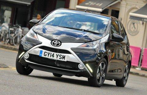 Toyota Aygo 2014-present front corner