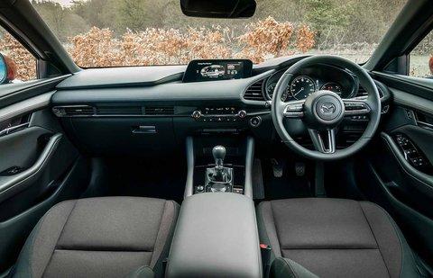 Mazda Mazda3 2019 RHD dashboard