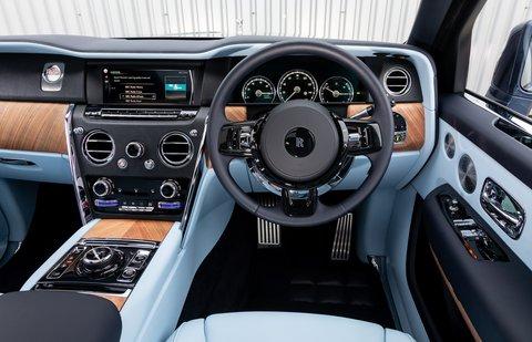 Rolls-Royce Cullinan dashboard