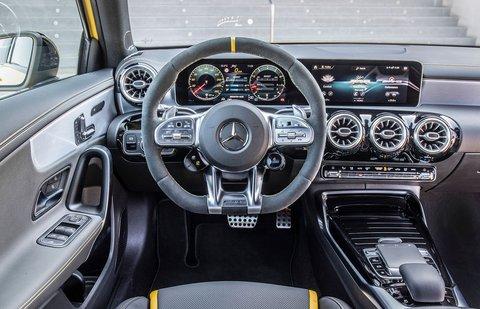 Mercedes-AMG CLA 45 S 2019 LHD dashboard