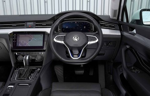 Volkswagen Passat Estate GTE 2021 RHD dashboard