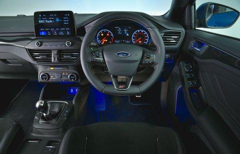 Ford Focus ST 2019 RHD dashboard
