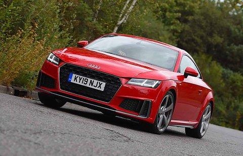 Audi TT Coupé front