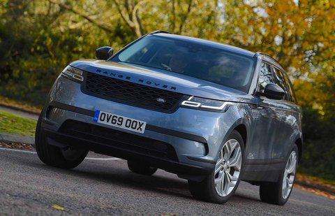 Land Rover Range Rover Velar 2019 front cornering