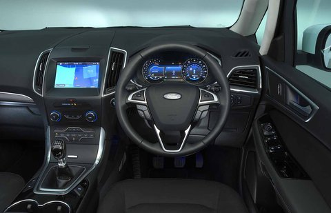 Ford Galaxy 2021 RHD dashboard