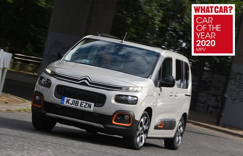 Citroen Berlingo 2020 awards