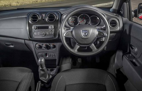Dacia Sandero 2019 dashboard RHD