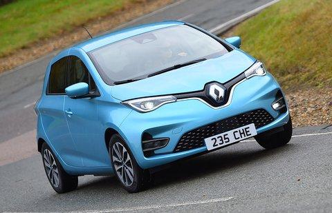 Renault Zoe 2021 front cornering